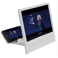 hd display мобильные телефоны оптовых-Экран усилитель новые ленивые люди глаза телефон экран усилитель увеличительное стекло 3D HD видео дисплей многофункциональный держатель мобильного телефона