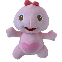 Wholesale dino toys resale online - Top Quality Authentic Dino VIPKID Characters Dino Family Member Dino s Sister Plush Toy Y200111