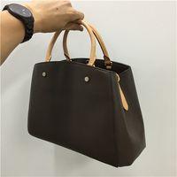 boston çanta toptan satış-Tasarımcı çanta bayan tasarımcı lüks çanta çantalar deri çanta cüzdan omuz çantası tote debriyaj boston sırt çantaları 41055 moda