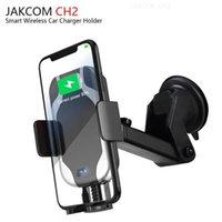 araba hücresi toptan satış-JAKCOM CH2 Akıllı Kablosuz Araç Şarj Dağı Tutucu Diğer Cep Telefonu Parçaları Sıcak Satış kamera dowsing çubuk ile izle