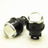 Wholesale lights xenon inch resale online - 2 inch inch Bi xenon Projector Lens Fog Lamp Driving Lights Super Bright for cars