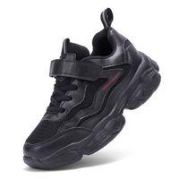 ingrosso scarpe a colore rosso per le ragazze-2019 Nuovi stili Kids Sport Shoes Running Shoes for Boys Girls Sneakers per bambini Mesh traspirante Nero Bianco Colore rosso