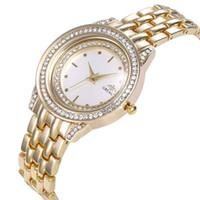 ingrosso braccialetti di modo migliori-2019 nuovo vestito da donna di lusso orologio moda personalità innovativa braccialetto pieno di diamanti braccialetto orologio al quarzo modelli femminili ladi più venduti
