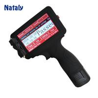 impresoras de bolsas al por mayor-Impresora de chorro de tinta industrial del PDA de Nataly M7 para la codificación de la hora de la fecha de la bolsa de plástico