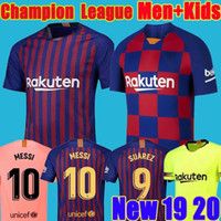 personalizar jersey de brasil al por mayor-2019 2020 FC jersey Barcelona Third 10 Messi Soccer Jerseys niños SUAREZ 23 MUTITI 14 MALCOM camiseta de fútbol camisa de barcelona jersey PIQUE