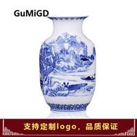 jingdezhen ornaments großhandel-Jingdezhen Ceramics Porzellanvase im chinesischen Stil, antiker Rahmen von Bo und Porzellanornamente