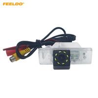Wholesale citroen light c5 resale online - FEELDO Car Special Backup Rear View Camera With LED Light For Citroen C Quatre C4 C5 Reversing Camera