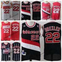 61d31db73 Wholesale mens xxl blazers for sale - Vintage Mens Portland Clyde Drexler  Trail Blazer Basketball Jerseys