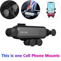 воздух оптовых-Это один универсальный автомобильный держатель для мобильного телефона с креплением к воздуху. Гравитационный кронштейн для телефона. Автомобильный держатель для iPhone.