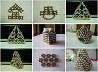 cubo magnetico 216 al por mayor-Pay4U Purfect 216 PC 5 mm bolas magnéticas colorido cubo neo magia perlas imán de neodimio rompecabezas del cubo de la descompresión de cumpleaños Juguete regalo de los cabritos