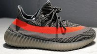 Wholesale kanye west shoe prices for sale - Group buy price Static Bred Black Non Reflective Zebra Green Glow Men Women Sneakers Beluga Cream Beige Kanye West Running Shoes
