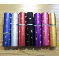 bouteille de parfum star achat en gros de-100pcs / lot 5ML Mini Maquillage Portable Aftershave Rechargeables Parfum Bouteille vide Pulvérisateur avec étoile RRA2248