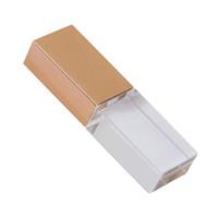 stift-antriebsform groihandel-Luxus Kristall Form 64 GB 16 GB 32 GB USB 2.0 Flash LED Pen Drive Memory Stick Thumb Drive Wasserdichte Jump Drive U Disk Geschenk