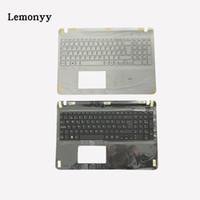 clavier vaio achat en gros de-NOUVEAU clavier espagnol pour Vaio SVF152A29M noir / blanc clavier SP avec couvercle Palmrest