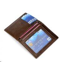 Wholesale coin money clips for men resale online - Men Wallet Short Wallets Purses Genuine leather Money Clips Sollid Thin Wallet For Men Pursestifunctional Wallet for Male
