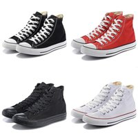 düşük tuval çizmeleri toptan satış-2019 Sıcak moda Yepyeni 1970 yıldızı Tümü Yüksek Üst Düşük Üst siyah Classic Canvas Shoes Kaykay Sneakers Erkekler Kadınlar Çizme