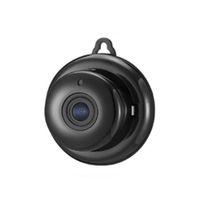 güvenlik hdd toptan satış-Akıllı Ev Güvenlik Kamera WiFi IP 360 Derece Panorama 720 P HD Video Bulut Depolama Şifreleme Kızılötesi