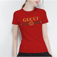 más monos tamaño para las mujeres al por mayor-2019 mujeres monos diseñador italiano Marca verano estilo caliente decoración marca marca de alta calidad dama T-shirt ja morant ropa de mujer más tamaño