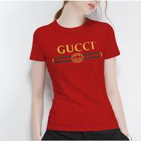 combinaisons grandes tailles pour femmes achat en gros de-2019women jumps designer designer italien marque été chaud style décoration marque haute qualité dame T - shirt ja morant femmes vêtements
