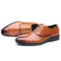 Rabatt Herren Anzüge Schuhe | 2020 Herrenanzüge Braune