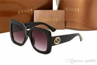 Wholesale metal square sun glasses resale online - High Quality Classic Pilot Sunglasses Designer Brand Mens Womens Sun Glasses Eyewear Metal Glass Lenses