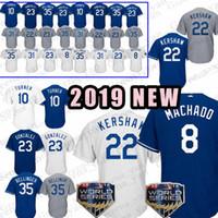 Wholesale kershaw baseball for sale - Top Los Angeles Dodgers Jersey Manny Machado Justin Turner Clayton Kershaw Corey Seager Adrian Gonzalez Yasiel Puig Jerseys