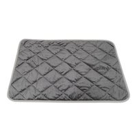 Wholesale hot dog pet bedding resale online - Thermals Mat Self Warming Heating Hot Pad Soft Warm for Pets Dog Bed Winter QJS Shop