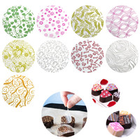 50pcs Set Mix Design Chocolate Transfer Sheet For Diy Chocolate Cookie Cake Decoration Baking Pastry Tools