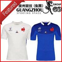 camisetas japonesas al por mayor-copa del mundo de rugby 2019 Francia Jersey Francia hogar lejos 19 20 pies maillot de tamaño Rugby Japón jerseys del equipo nacional japonesa Rugby S-3XL