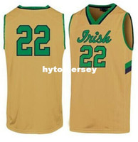 5d251d9868b Wholesale basket jersey for sale - Cheap Notre Dame Irish School Basketball  Jersey Jerian Grant College