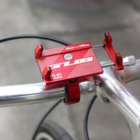 Wholesale cycling phone holder resale online - GUB Aluminum Alloy Bike Mount Bicycle Phone Holder Lightweight Support Bike Handlebar Holder Rack Cycling Accessories Parts Tool