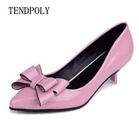 Wholesale hot trendy wedding dresses online - Shoes new retro fashion high heels summer fine with bow versatile shallow mouth trendy hot sales casual sexy prom wedding