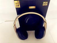ubit bluetooth lautsprecher großhandel-A +++ - Stu-3 Qualität 3.0 drahtlose Kopfhörer-Stereo-Bluetooth-Kopfhörerohrhörer mit Mikrofon-Kopfhörer-Unterstützungs-TF-Karte für iPhone Samsung Wholesale E
