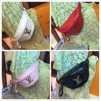 nuevo bolso de diseño de marca al por mayor-Nueva marca internacional bolsos de mujer recreación de moda de cuero Riñonera encanto clásico fiesta de diseño de moda exquisita envío gratis
