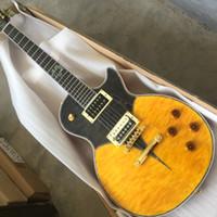 Wholesale black burst guitar resale online - Rare Custom Shop Standard Yellow Burst Electric Guitar Black burst New Standard Version China Guitars