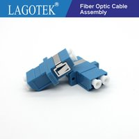 Wholesale lc fiber adapter for sale - Group buy 25 LC UPC Duplex single mode Fiber optic Adapter LC Optical fiber coupler UPC flange connector