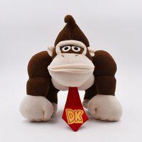 jouets en peluche d'âne achat en gros de-22cm Super Mario Donkey Kong Peluche En Peluche Donkey Kong Jouets En Peluche Mario meilleur cadeau poupée lol livraison gratuite