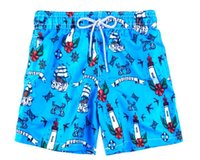 Wholesale gold octopus resale online - Vilebrequin Mens Beach Shorts octopus French starfish Turtle printing Bermuda Swimwear male Bathing Shorts Quick drying