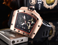 Wholesale square needle resale online - 2019 ALL THE WORK military sports Men s or womenes watches Small needle seconds