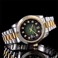 ingrosso orologio perpetuo della data-40mm di qualità relogio di lusso di lusso orologi da uomo / donna orologi da donna orologi da donna orologio al quarzo giorno data perpetuo movimento orologio GO