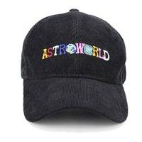 streetwear hysteresen groihandel-Marke Sommerball Hüte Damen Herren Astroworld Letters Stickerei Baseballmütze Hip Hop Snapbacks Outdoor Sports Cap Travel Street B62901