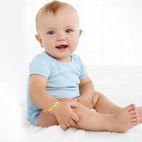 Wholesale lobster toys for sale - Group buy Fashionable Luxury Gold Children s Toy Bracelet High Quality Cute Baby Small Bell and Heart Bracelet KH314