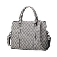 13 inç dizüstü evrak çantası toptan satış-Moda Kadın Laptop İş Evrak Çantası Bayanlar PU Deri Çanta 13 14 Inç kadın Dizüstü Bilgisayar Taşınabilir Ofis Çantası