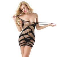 ingrosso sesso solido del corpo-2019 Donne Solid Bikini Set New Sexy Swimsuit Fishnet Sex Toys Body Body Stocking Dress Nightwear Intimo Sandy Beach