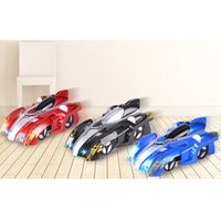 Wholesale wall cars toys resale online - New RC Wall Climbing Car Remote Control Anti Gravity Ceiling Racing Car Electric Toys Machine Auto Gift for Children RC
