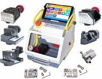 maquinas modernas al por mayor-DHL Free Full Clamp SEC-E9 máquina de corte de llaves Modern Car Key Making Machine Máquina de copia de llaves profesional con CE Aprobado Actualización en línea