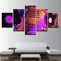 Wholesale canvas musical art for sale - Group buy HD Abstract Canvas Art Painting For Living Room Wall Decor Pieces Decoration Picture Musical Instrument