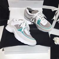 diseñador de marcas de zapatos de ocio al por mayor-Descuento lujo Francia Marca de gamuza de cuero zapatos casuales mujer diseñador zapatillas Diseñador genuino para mujer ocio entrenadores Lowtop Runaway