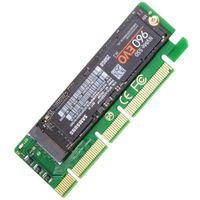 mini pci sdd sata toptan satış-CY SA - 001 NGFF M-key NVME AHCI SSD PCI-E 3.0 için 1x Dikey Adaptörü XP941 SM951 PM951 960 EVO SSD
