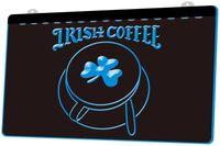 neon-shamrock licht großhandel-LS1167-b-Irish-Coffee-Cup-Geschäft-Shamrock-Neonlicht-Sign.jpg Dekor-freies Verschiffen Dropshipping Großverkauf 8 Farben zum zu wählen